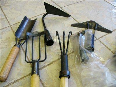 Садовые инструменты серии козьма