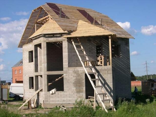 Опыт строительства дома